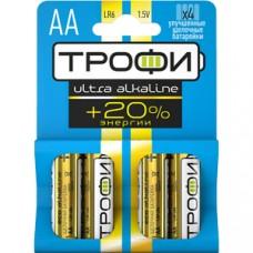 Батарейки Трофи LR6-4BL ULTRA Б0015138