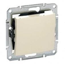 Sedna Беж Выключатель 1-клавишный 10А , IP44 (сх.1) SDN0100347