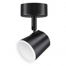 357853 NT18 000 чёрный Накладной светодиодный светильник IP20 LED 6W 110-240V CAMPANA 357853