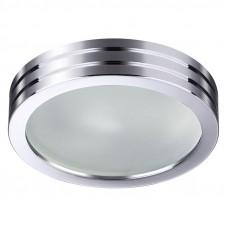 370388 NT18 384 хром Встраиваемый светильник GX5.3 50W 12V DAMLA 370388
