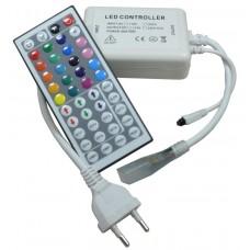 Контроллер GDC-RGB-700-IP20-220 (IR) 512112