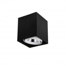 1987-1U, потолочный светильник,  L140*W140*H160, COB LED*12W, RA>80, beam angle:24°, 4000K 1987-1U