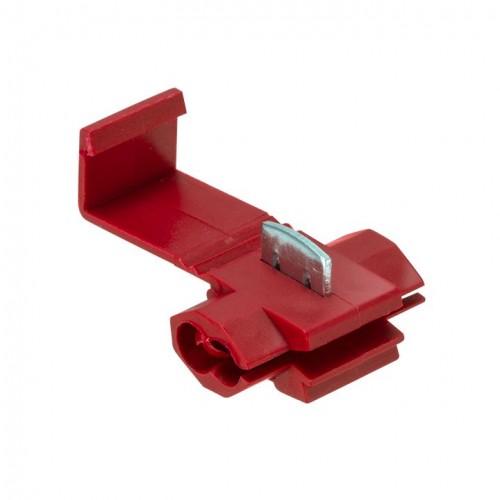 Ответвитель прокалывающий ОВ-1 0,5-1,5 мм2 красный (50шт.) EKF PROxima plc-ov-0.5-1.5