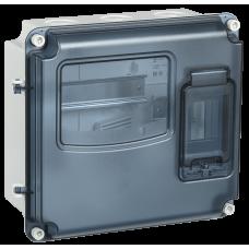 Корпус пластиковый ЩУРн-П 1/3 IP55 PC IEK MSP1-N-03-55