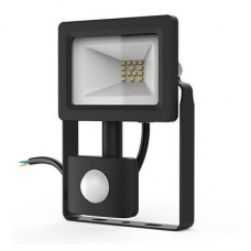 Прожектор Gauss LED Elementary 10W 6500K+датчик движения 628511310