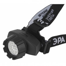 GB-605 Фонарь ЭРА налобный [23xLED, 3xAAA, 4 реж., черный, бл] Б0031385