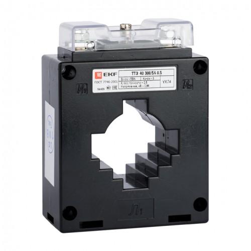 Трансформатор тока ТТЭ-40-500/5А класс точности 0,5S EKF tte-40-500-0.5S