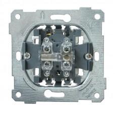 ВС10-1-2-Б Выключатель 1 клав. проход. 10А BOLERO IEK EVB12-10