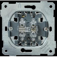 ВС10-2-0-Б Выключатель 2 клав. 10А BOLERO IEK EVB20-10