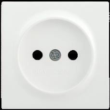 НР-1-0-ББ Накладка розетка без з/к BOLERO белый IEK ENB10-R-K01