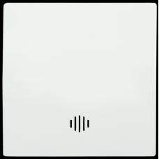 HB-1-1-ББ Накладка 1 клав. с индик. BOLERO белый IEK ENB11-V-K01