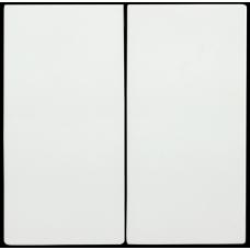 HB-2-0-ББ Накладка 2 клав. BOLERO белый IEK ENB20-V-K01