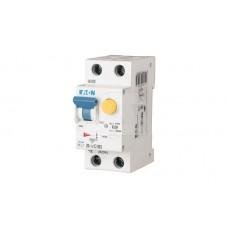 HNB-C20/1N/003 Автоматический выключатель дифференциального тока, 20A, 30мА, кривая отключения C, 1полюс+N, тип чувствительности AC 195128