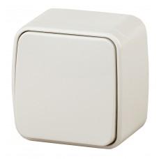3-101-01 Intro Выключатель, 10А-250В, IP20, ОУ, Polo, белый Б0036092