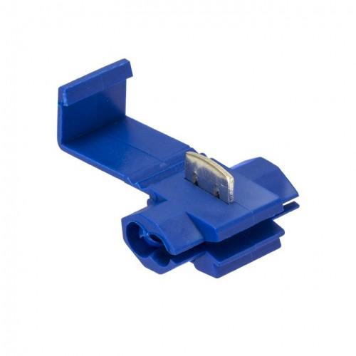 Ответвитель прокалывающий ОВ-2 1,0-2,5 мм2 синий (50 шт.) EKF plc-ov-1.0-2.5