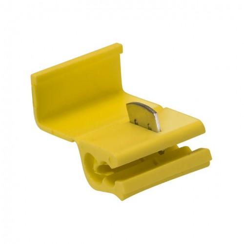 Ответвитель прокалывающий ОВ-3 2,5-6,0 мм2 желтый (25 шт.) EKF plc-ov-2.5-6.0