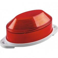 Светильник-вспышка (стробы) 1,3W 230V, красный, STLB01 IP54 29895