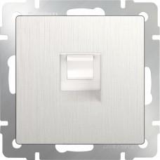 Розетка Ethernet RJ-45 (перламутровый рифленый)/WL13-RJ-45 a040889