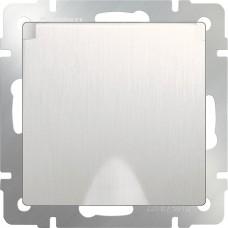 Розетка влагозащ. с зазем. с защит. крышкой и шторками (перламутровый рифленый)/WL13-SKGSC-01-IP44 a040892