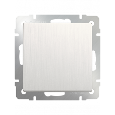 Выключатель одноклавишный (перламутровый рифленый)/WL13-SW-1G a040882