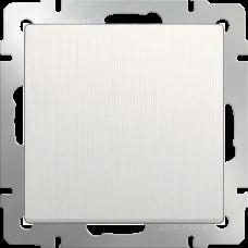Выключатель одноклавишный проходной (перламутровый рифленый)/WL13-SW-1G-2W a040890