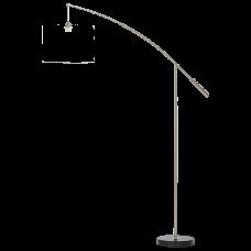 39368 Торшер без абажура NADINA 1, 1x60W(E27), сталь, никель мат 39368