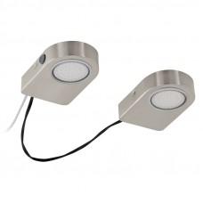 94514 Светодиодная подсветка LAVAIO, 2x 3,7W (LED), сталь, никель матовый 94514