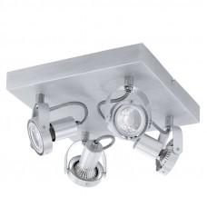 94645 Светодиодный спот NOVORIO, 4х5W (GU10), сталь, алюминий, алюмин. покраска 94645