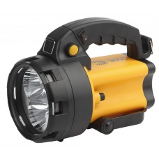 PA-604 Фонарь ЭРА прожектор АЛЬФА [3x1Вт LED SMD, литий 3Ач, сигнал.св., ЗУ 220V+12V, карт Б0031035