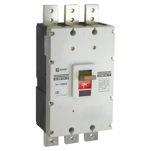 Выключатель автоматический ВА-99М 1250/1000А3P35кАEKF PROxima mccb99-1250-1000m