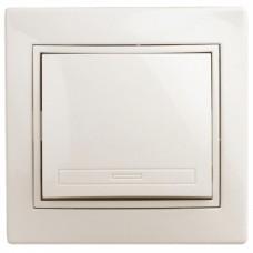 1-101-02 Intro Выключатель, 10А-250В, IP20, СУ, Plano, сл.кость Б0027596