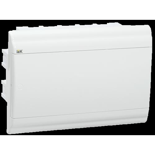 Бокс ЩРВ-П-12 модулей встраив.пластик IP41 PRIME белая дверь MKP82-V-12-WD-41-10