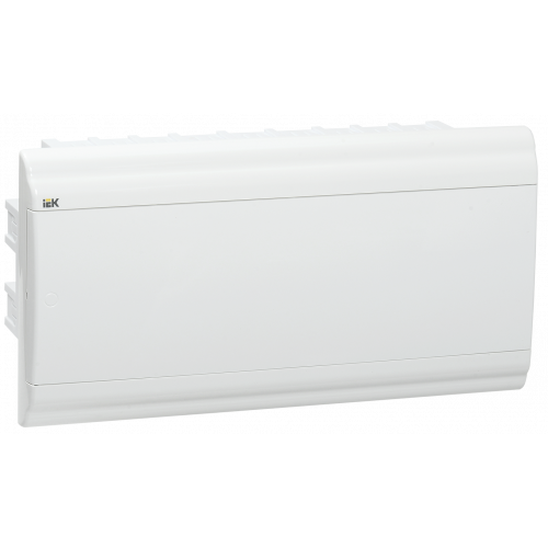 Бокс ЩРВ-П-18 модулей встраив.пластик IP41 PRIME белая дверь MKP82-V-18-WD-41-10