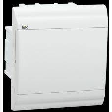 Бокс ЩРВ-П-6 модулей встраив.пластик IP41 PRIME белая дверь MKP82-V-06-WD-41-20