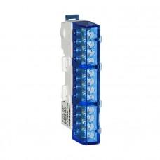 Шина нулевая изолированная KSN-6-6x9-12 BLUE 06-07-002