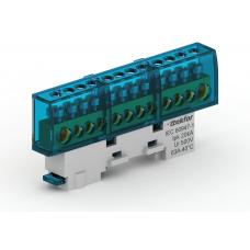 Шина нулевая неизолированная KSN-7-6x9-06 BLUE 06-08-001