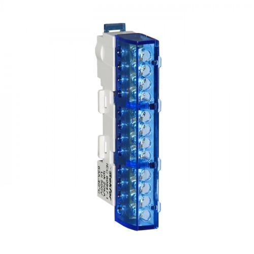 Шина нулевая неизолированная KSN-7-6x9-12-Ni BLUE 06-08-040
