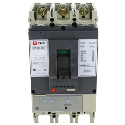 Выключатель автоматический ВА-99C (Compact NS) 1250/1000А 3P 50кА EKF mccb99C-1250-1000