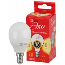 Лампа светодиодная ЭРА LED P45-10W-827-E14 ECO Б0032968