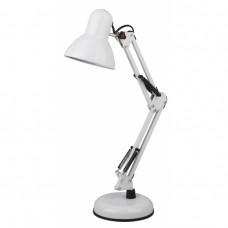 N-214-E27-40W-W настольная лампа белый Б0035069