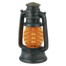 SL-RSN23-LANT-OR Садовые фонари ЭРА Садовый светильник на солнечной батарее, полистоун, пластик, оранжевый, 21,3 см Б0032583