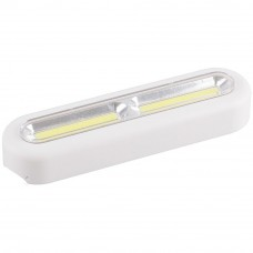 FN1210 1LED 3W Светодиодный светильник-кнопка 100Lm, 150*40*25мм, белый 23381