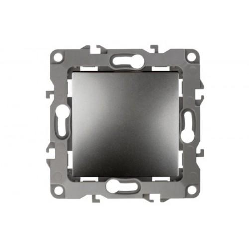 14-1108-03 ЭРА Переключатель промежуточный, 10АХ-250В, IP20, Эра Elegance, алюминий Б0034259