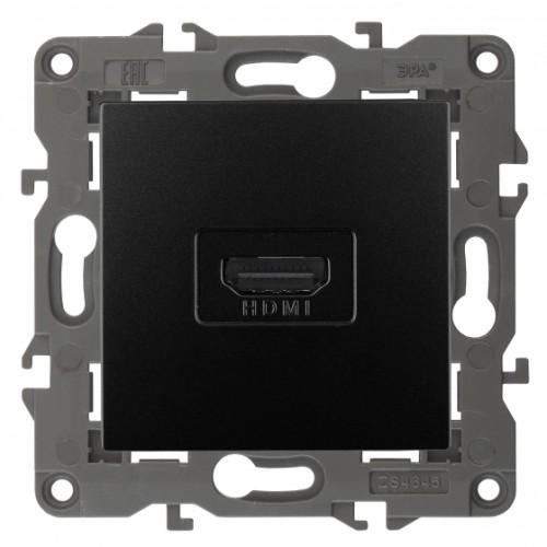 14-3114-05 ЭРА Розетка HDMI, IP20, Эра Elegance, антрацит Б0034336