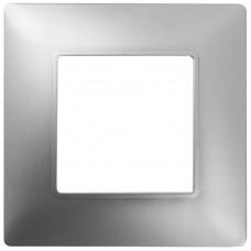 14-5001-03 ЭРА Рамка на 1 пост, Эра Elegance, алюминий Б0034383