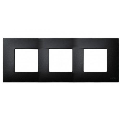 14-5003-05 ЭРА Рамка на 3 поста, Эра Elegance, антрацит Б0034397