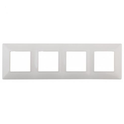 14-5004-01 ЭРА Рамка на 4 поста, Эра Elegance, белый Б0034399