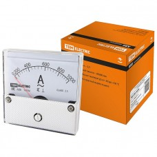 Амперметр А80 1000А/5А-2,5, трансформаторного включения, (поверенный), TDM SQ1102-0248