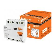 УЗО ВД1-63 4Р 16А 30мА тип А TDM SQ0203-0083