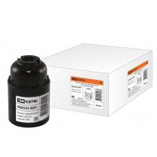 Патрон карболитовый подвесной, Е27, черный, TDM SQ0335-0001